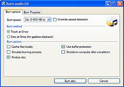 "DOWNLOAD ""PORTABLE BURN AUDIO CD"""